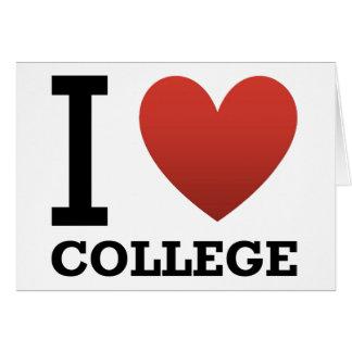私は大学を愛します カード