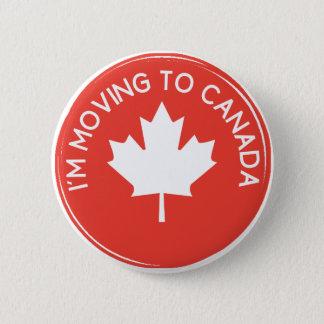 私は大統領のためにTrumpカナダに動いています 5.7cm 丸型バッジ