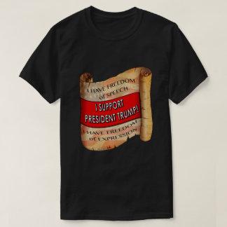 私は大統領を支えますTrump T-Shirt Tシャツ