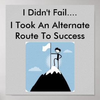 私は失敗しませんでした ポスター