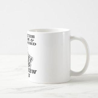 私は失礼な原油及びそう入れ墨されたねじです コーヒーマグカップ