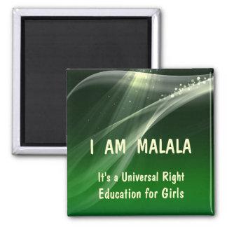 私は女の子のためのMalalaの教育です マグネット