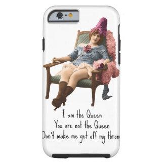 私は女王のiPhoneの例です ケース
