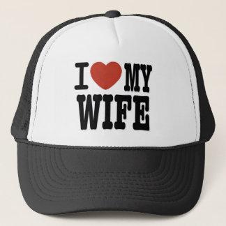 私は妻を愛します キャップ