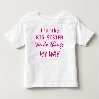 私は姉です トドラーTシャツ