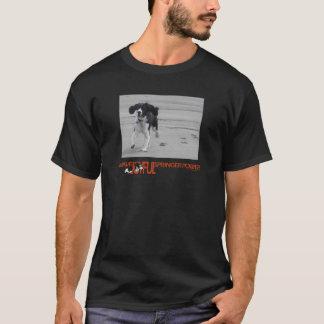 私は嬉しいスプリンガー力を写真とカスタマイズもらいます Tシャツ