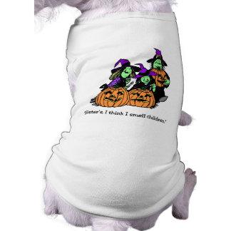 私は子供の魔法使いの姉妹のTシャツをかぎます ペット服