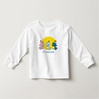 私は子供へディーノのTシャツを愛します トドラーTシャツ