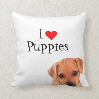私は子犬の枕を愛します クッション