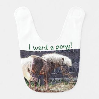 私は子馬の胸当てがほしいと思います ベビービブ