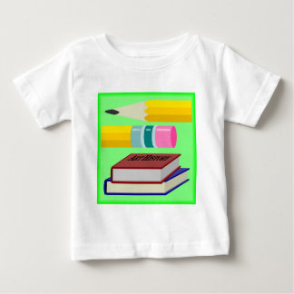 私は学校を愛します! ベビーTシャツ