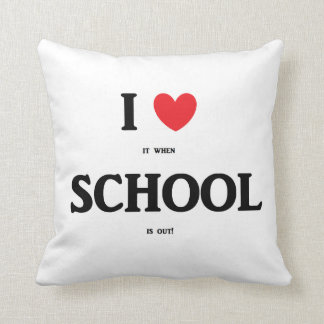 """""""私は学校""""の枕愛します クッション"""
