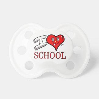 私は学習者および教育者のための学校のデザインを愛します おしゃぶり