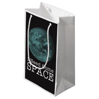 私は宇宙のギフトバッグを必要とします スモールペーパーバッグ