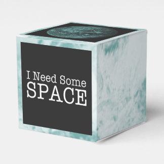 私は宇宙のパーティの記念品箱を必要とします フェイバーボックス
