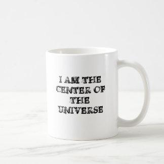 私は宇宙の中心です コーヒーマグカップ