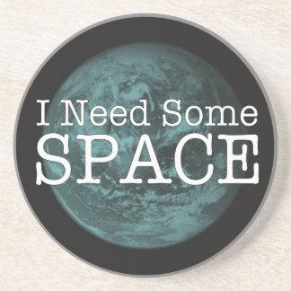 私は宇宙の砂岩飲み物のコースターを必要とします コースター