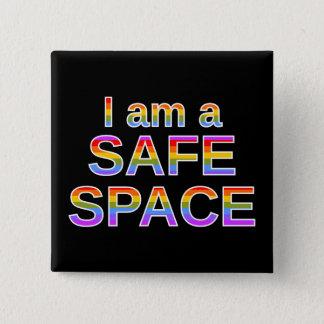 私は安全な宇宙です 缶バッジ