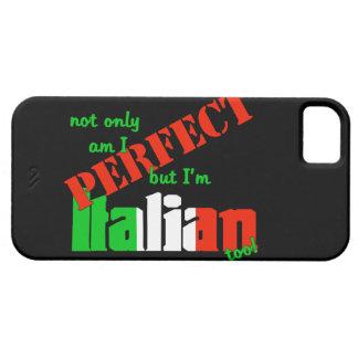私は完成しますありますが、ただイタリアンですも iPhone SE/5/5s ケース