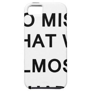 私は実際に私達にほとんどあったものが恋しく思います iPhone SE/5/5s ケース