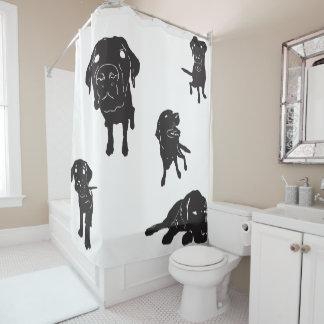 私は実験室のシャワー・カーテンを愛します シャワーカーテン