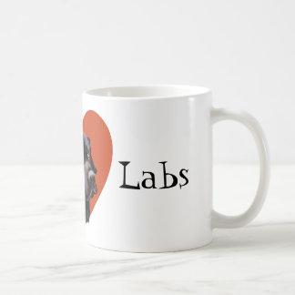 私は実験室を愛します コーヒーマグカップ