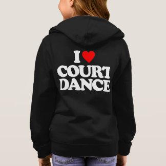 私は宮廷舞踊を愛します スウェットシャツ