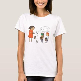 私は家父長制|おもしろいな喜劇的なハロウィンのワイシャツです Tシャツ