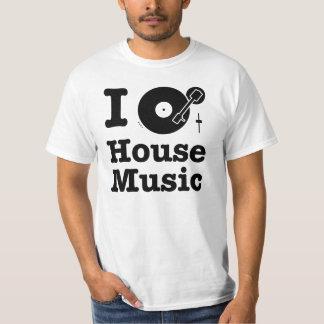 私は家音楽を回します Tシャツ
