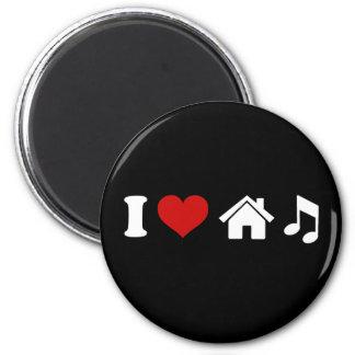 私は家音楽磁石  Ibizaのパーティーのギフトを愛します マグネット