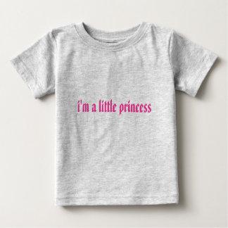 私は小さい王女です ベビーTシャツ