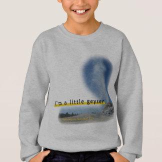 私は小さい間欠泉のスエットシャツです スウェットシャツ