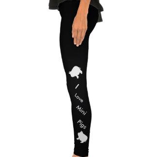 私は小型ブタのアメリカの服装のスパンデックスを愛します トレンカ