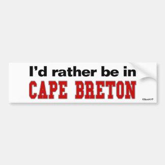 私は岬のブルターニュ語にむしろあります バンパーステッカー