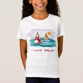 私は帆を愛します! T Tシャツ