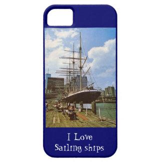 私は帆船を愛します iPhone SE/5/5s ケース