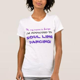 私は常習しています! 精神のラインダンスのTシャツ Tシャツ