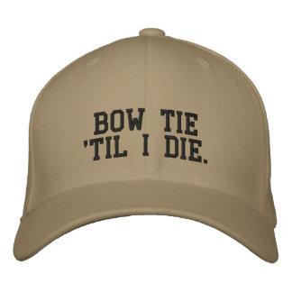 私は帽子までちょうネクタイ「野球のシボレーの死にます 刺繍入りキャップ