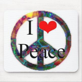 私は平和を愛します マウスパッド