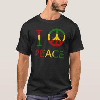 私は平和を愛します Tシャツ
