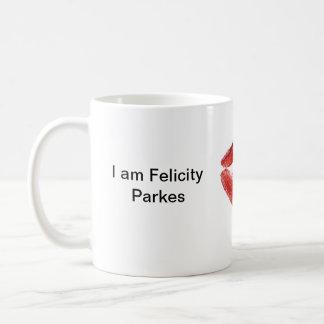 私は幸運Parkesです コーヒーマグカップ