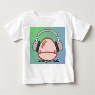 私は幼児のTシャツ調整します ベビーTシャツ