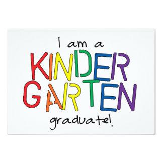 私は幼稚園の卒業生です カード