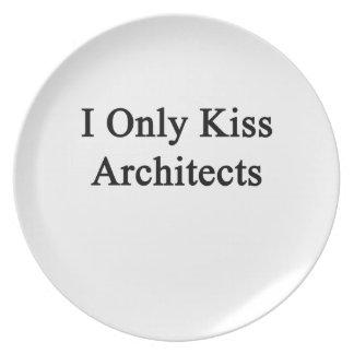私は建築家だけに接吻します プレート