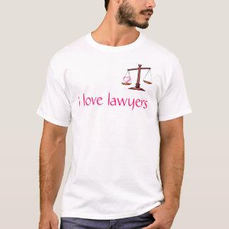 私は弁護士を愛します Tシャツ