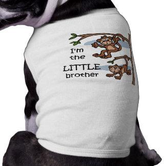 私は弟犬のTシャツです ペット服