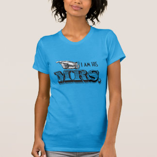 私は彼の夫人ですBride T-shirt Tシャツ