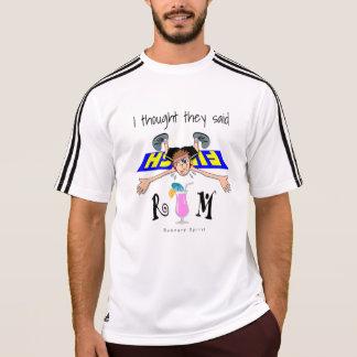 私は彼らを言いましたラム酒-アディダスSS --を考えました Tシャツ