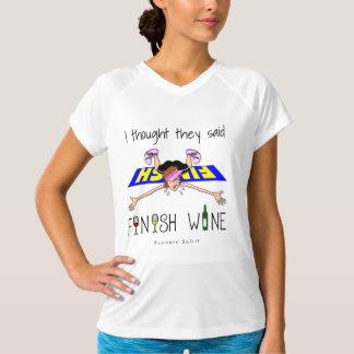 私は彼らを言いました終わりのワイン-チャンピオンSS --を考えました Tシャツ
