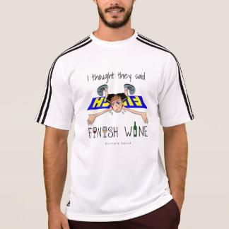 私は彼らを言いました終わりのワイン- SSアディダス--を考えました Tシャツ